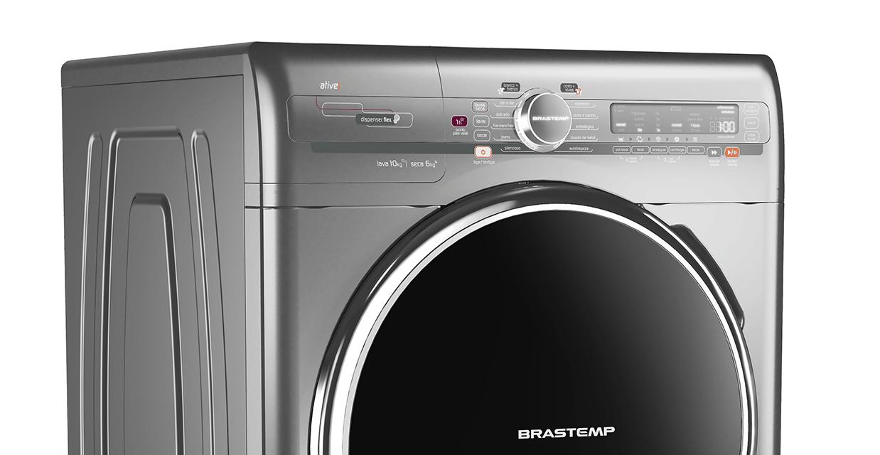 Lava e seca 10kg e 6kg bns10ac brastemp for Maquina de segar
